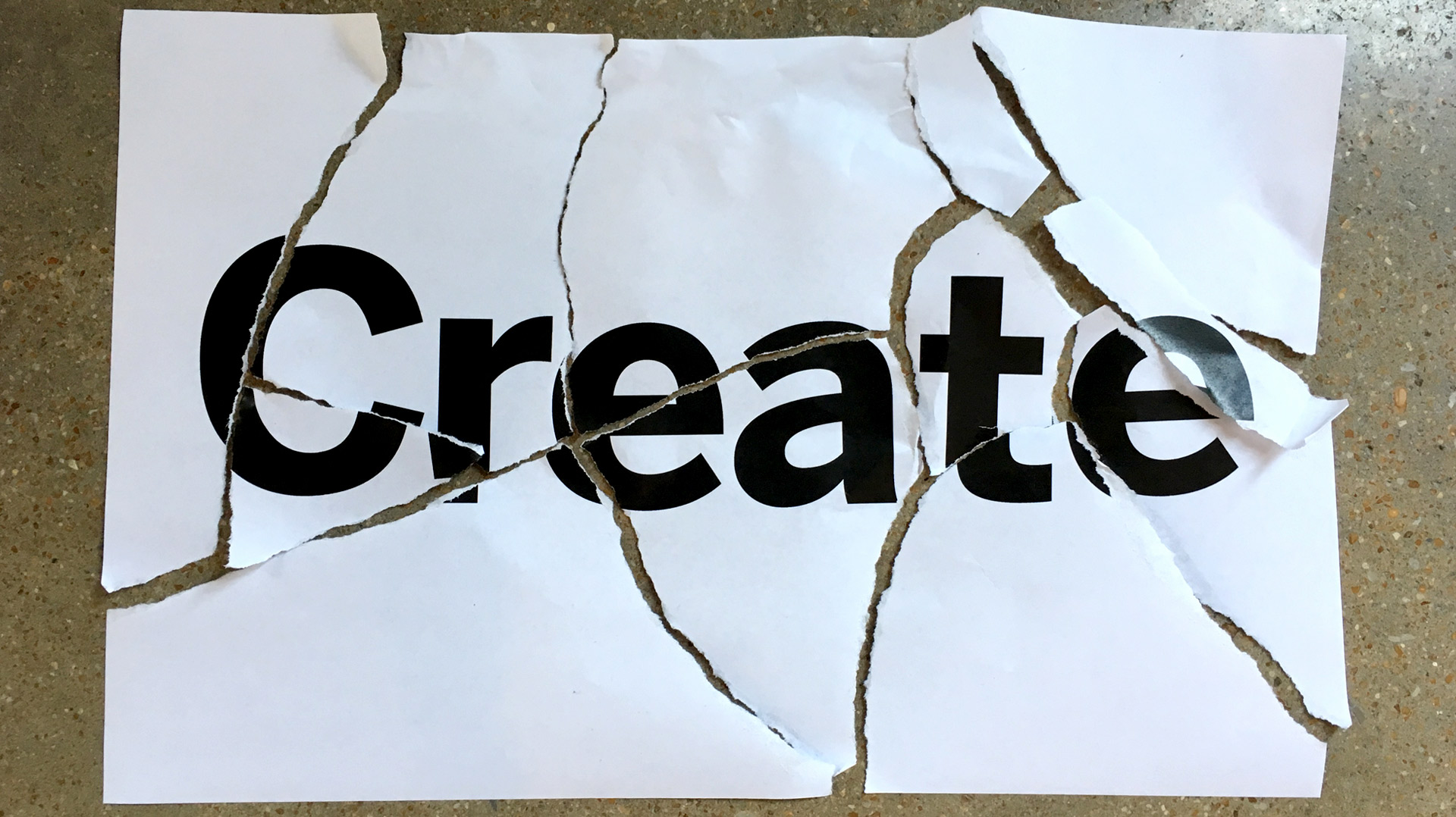 Create. Do Not Destroy