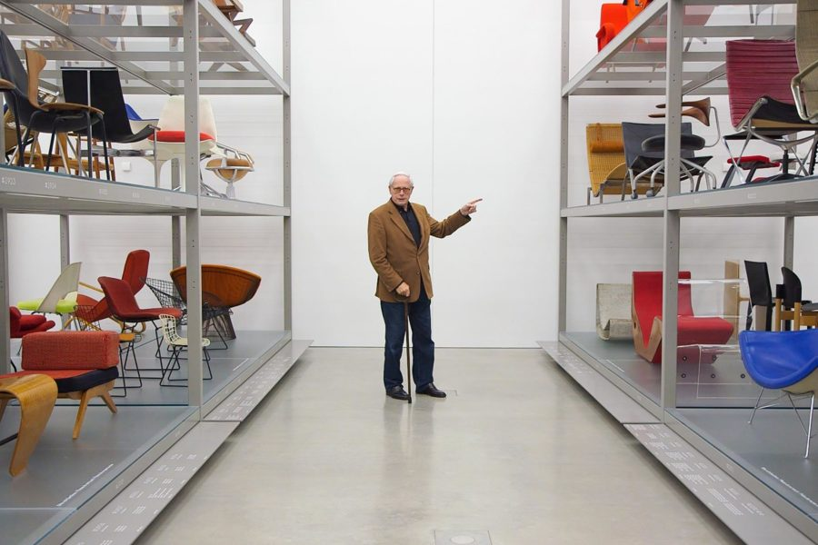 Dieter Rams at the Vitra Museum